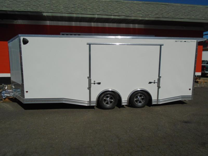 2020 STEALTH 8.5X20 ALL ALUMINUM WITH ELITE ESCAPE DOOR