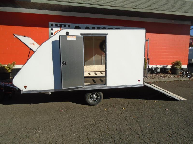 2021 Snopro HYBRID 101X12 2 PLACE Snowmobile Trailer