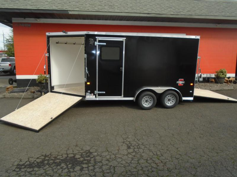 2021 Charmac Trailers 7.6X18 ESCAPE Snowmobile Trailer