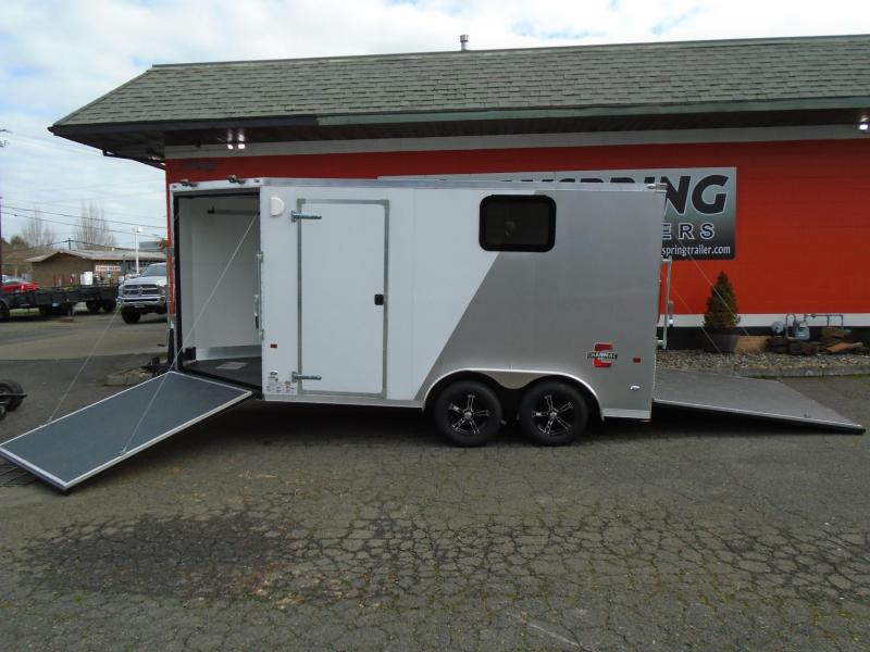 2021 Charmac Trailers 7.6X18 ESCAPE ATV/UTV/ SNOWMOBILE TRAILER