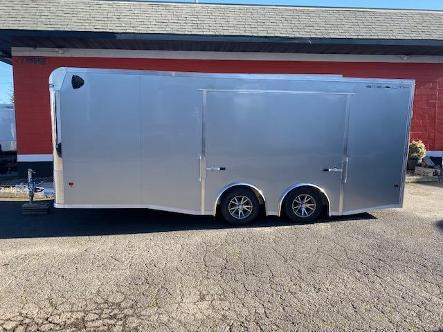 2020 STEALTH 8.5x20 ALL ALUMINUM CAR HAULER WITH A ELITE ESCAPE DOOR