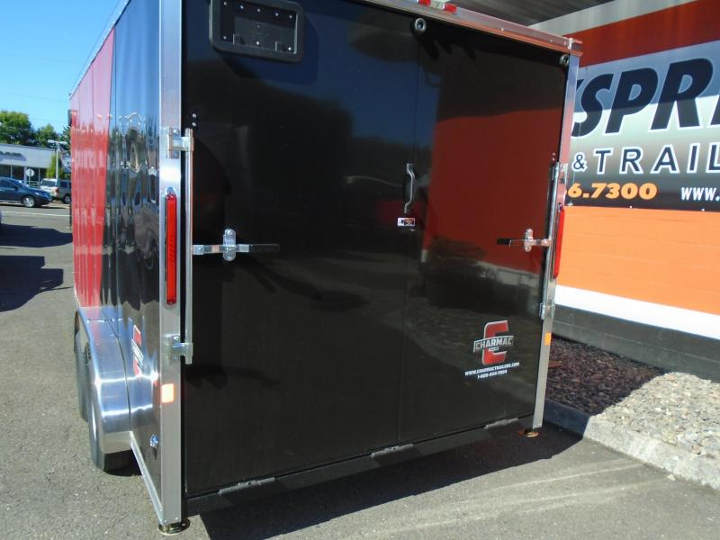 2020 Charmac Trailers 7.6X16T Enclosed Cargo Trailer