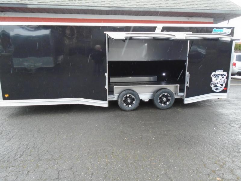 2021 CARGOPRO PINNACLE 8.5X24 TOP OF THE CAR HAULER
