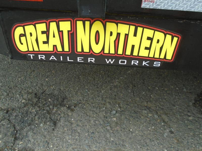 2020 Great Northern Trailer Works UT 1270 ATV Trailer
