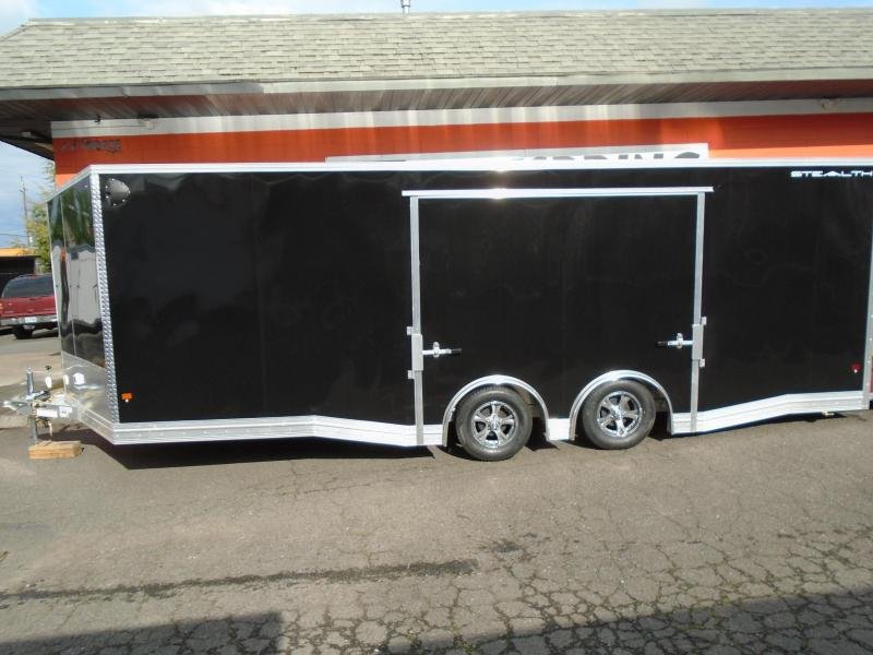 2021 STEALTH ALL ALUMINUM LIMITED EDITION 8.5X22 CAR HAULER
