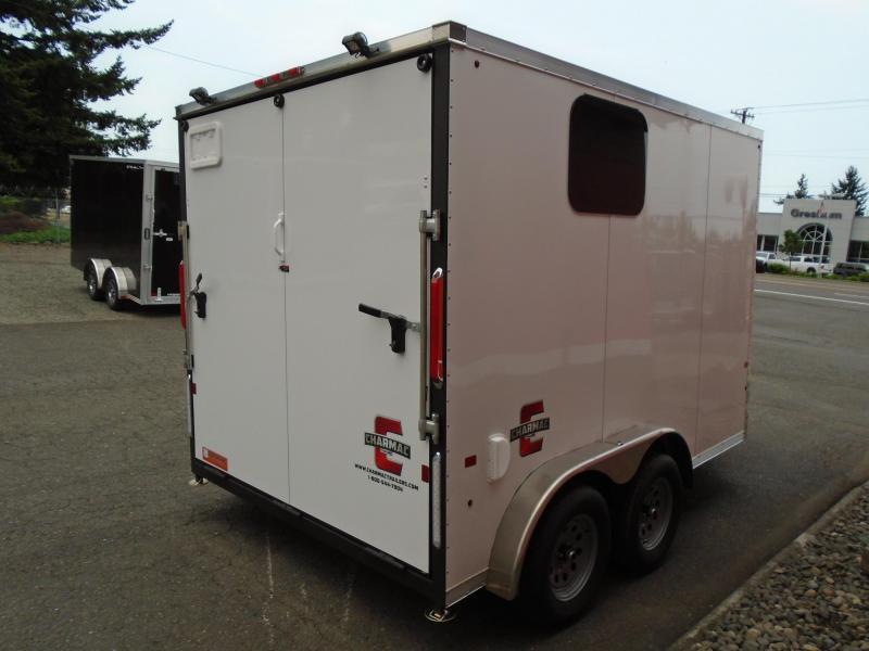 2021 Charmac Trailers 7.6X16 ESCAPE ATV/UTV/ SNOWMOBILE TRAILER