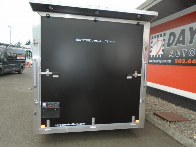 2021 Alcom-Stealth C7.5X14utv Enclosed Cargo Trailer