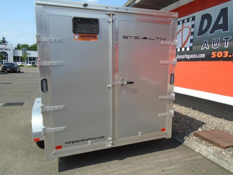 2021 Alcom-Stealth C7X14S-IF ATV Trailer