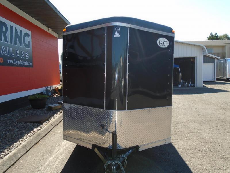 2010 RC Trailers 6X12 ENCLOSED RAMP DOOR Enclosed Cargo Trailer