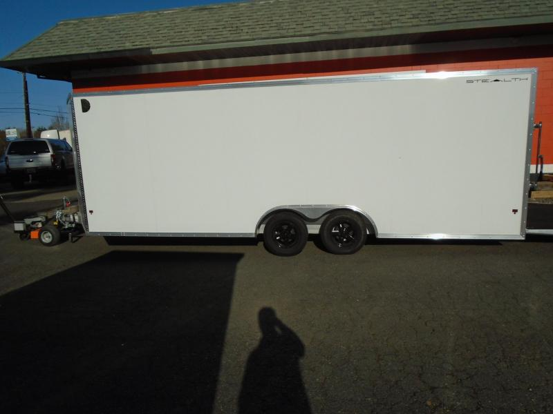 2018 Alcom-Stealth 8.5X22 Car / Racing Trailer