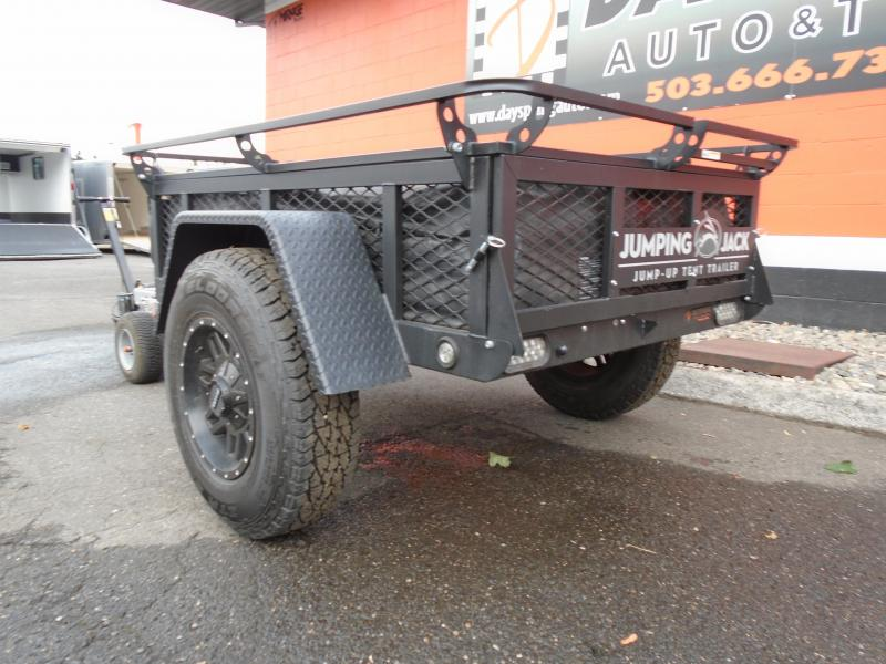 2021 Jumping Jack Trailers JJT4x6 BLACKOUT Tent Camper