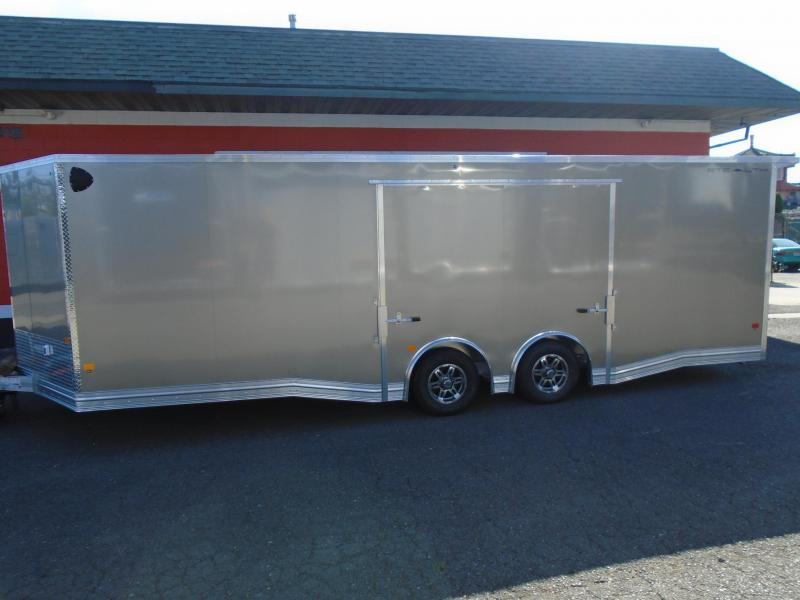 2021 STEALTH ALL ALUMINUM LIMITED EDITION 8.5X24CAR HAULER
