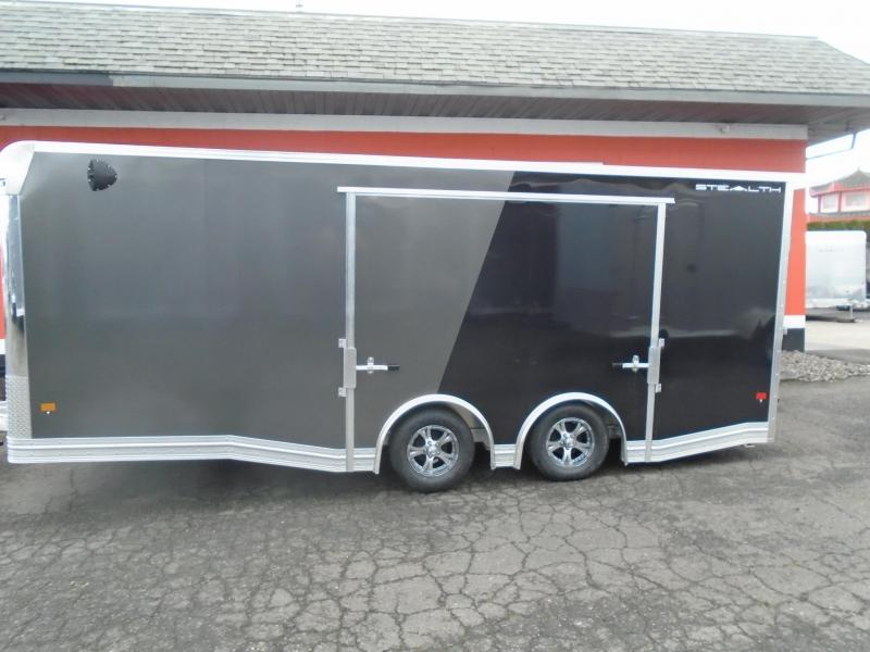 2021STEALTH ALL ALUMINUM LIMITED EDITION 8.5X20CAR HAULER