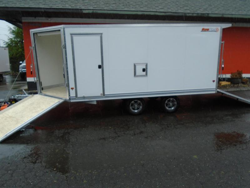 2021 Snopro SNOPROE101X16ESH ALL ALUMINUM SNOWMOBILE TRAILER