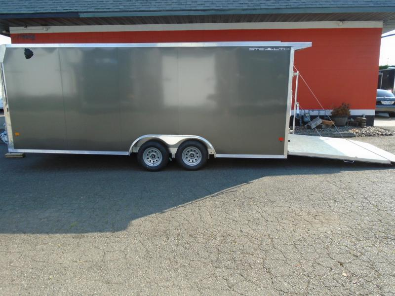 2021 Alcom-Stealth all aluminum  8.5X20 Car / Racing Trailer