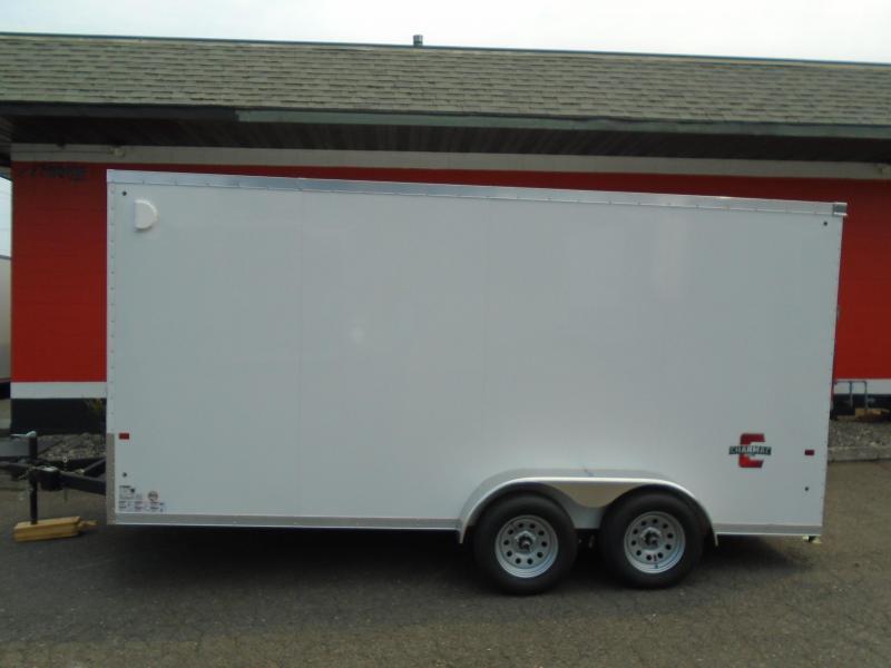 2021 Charmac Trailers 7X16 ATV /UTV Enclosed Cargo Trailer