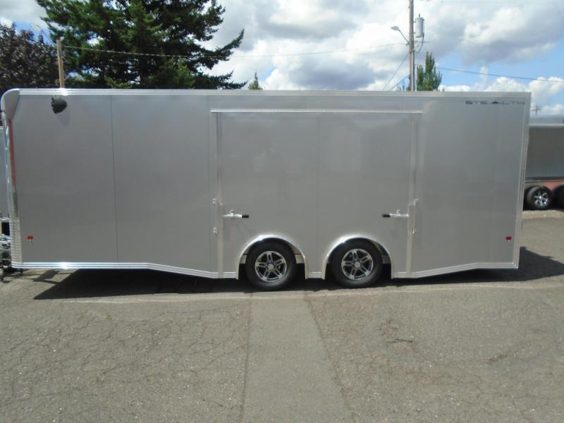 2019 Alcom-Stealth C8.5X22SCH-IF Car / Racing Trailer