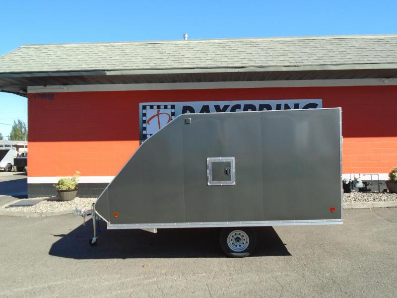 2021 Snopro HYBRID 101X12 Snowmobile Trailer