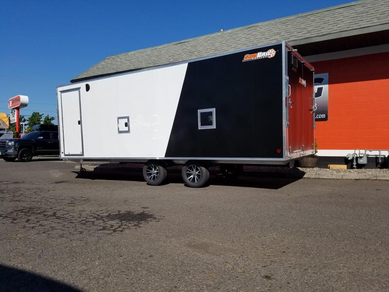 2021 Snopro E101X22-L Snowmobile Trailer
