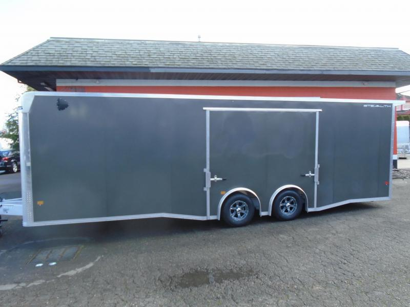2021 STEALTH ALL ALUMINUM 8.5X26CAR HAULER