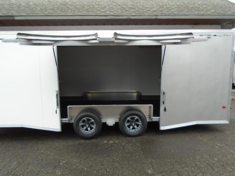 2021 Alcom-Stealth C8.5X24SCH-IF Car / Racing Trailer