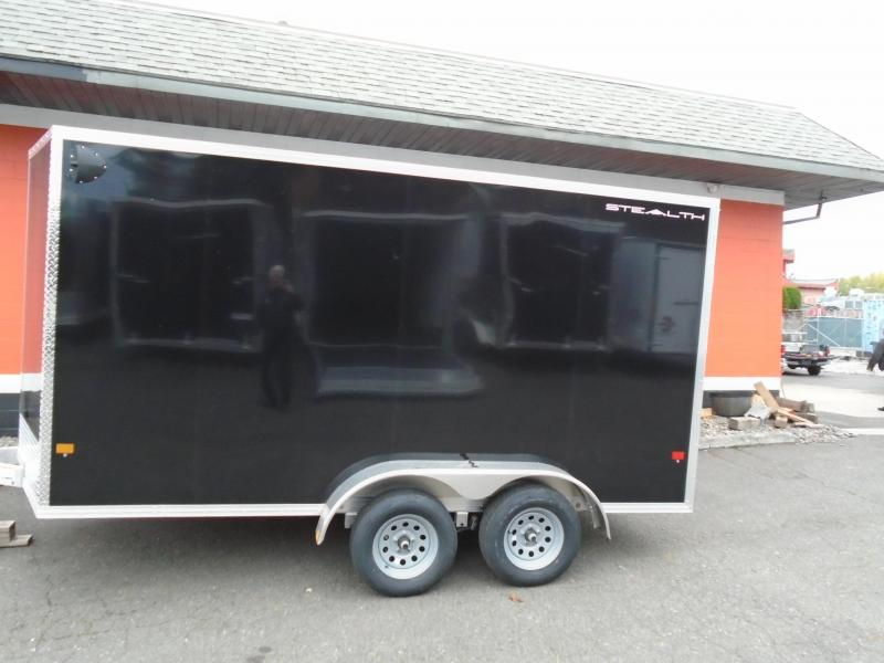 2021 Alcom-Stealth C7X14  All aluminum Enclosed Cargo Trailer
