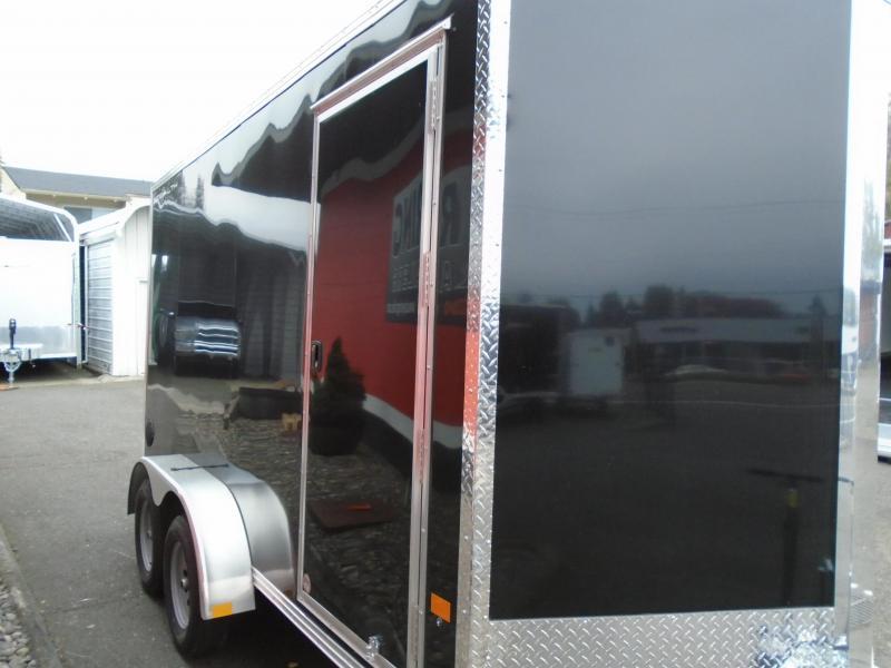 2021 Alcom-Stealth C7X14  All aluminum Enclosed Cargo Trailer