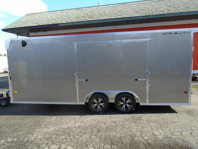 2021 Alcom-Stealth C8.5X20SCH Car / Racing Trailer