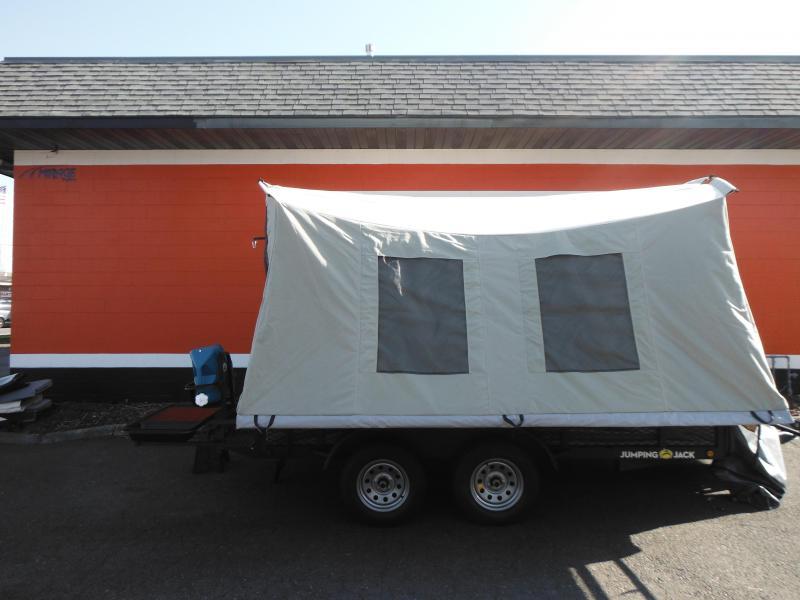 2021 Jumping Jack Trailers JJT6X12X12 Tent Camper