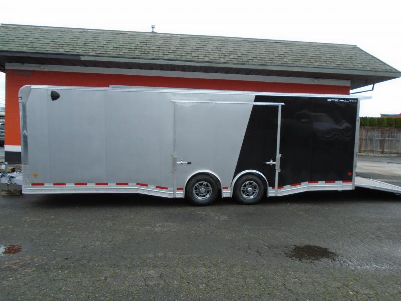 2021 STEALTH ALL ALUMINUM LIMITED EDITION 8.5X26CAR HAULER