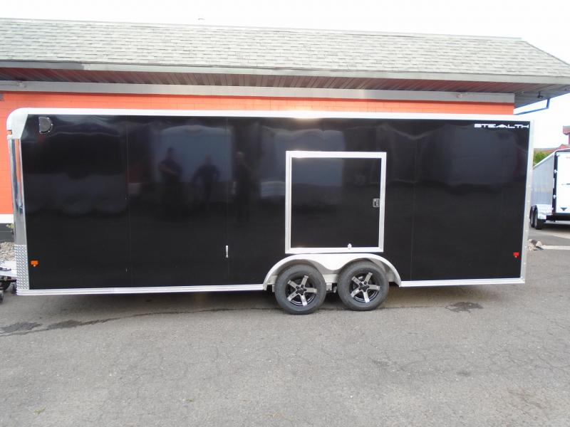 2019 Alcom-Stealth C8.5X22SCH Car / Racing Trailer