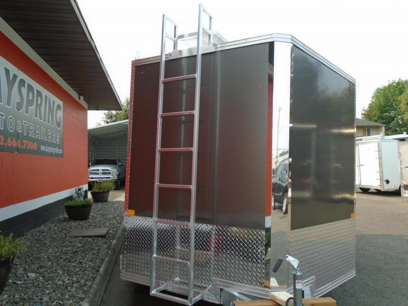 2022 Alcom-Stealth CONTRACTOR Enclosed Cargo Trailer