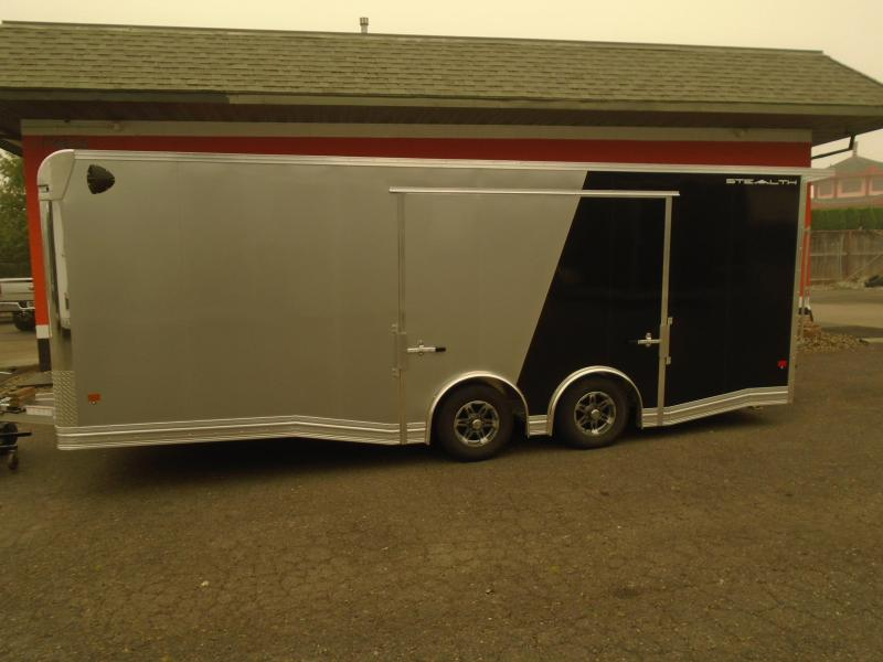 2021 STEALTH ALL ALUMINUM LIMITED EDITION 8.5X22CAR HAULER