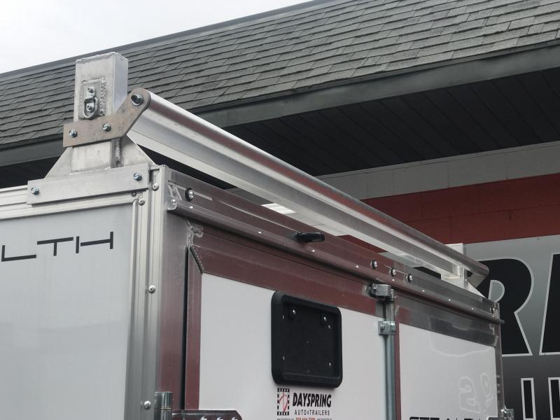 2020 Alcom-Stealth CONTRACTOR Enclosed Cargo Trailer