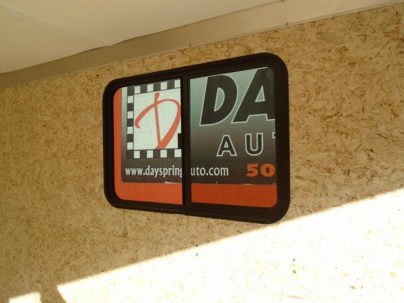 2021 ALL ALUMINUM  8.5X16 UTV/ATV TRAILER