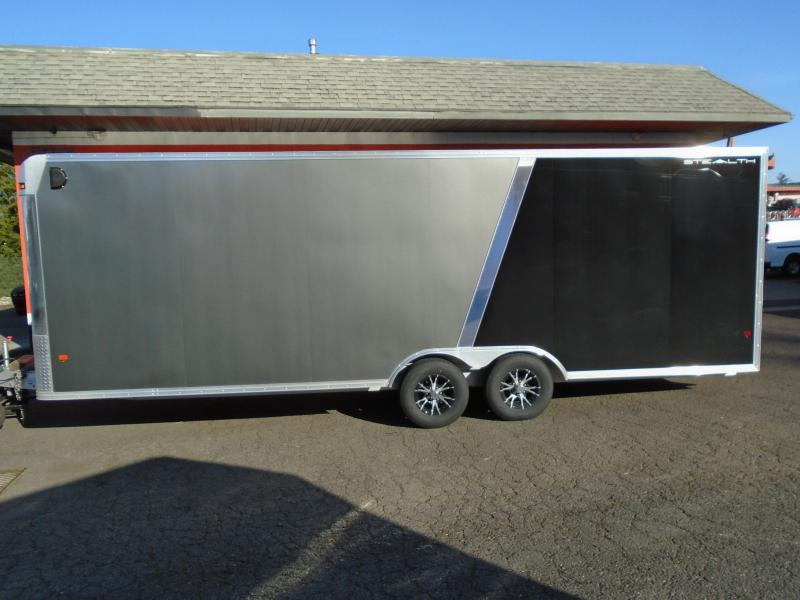2016 ALCOM 8.5X24 ENCLOSED ALL ALUMINUM Car / Racing Trailer