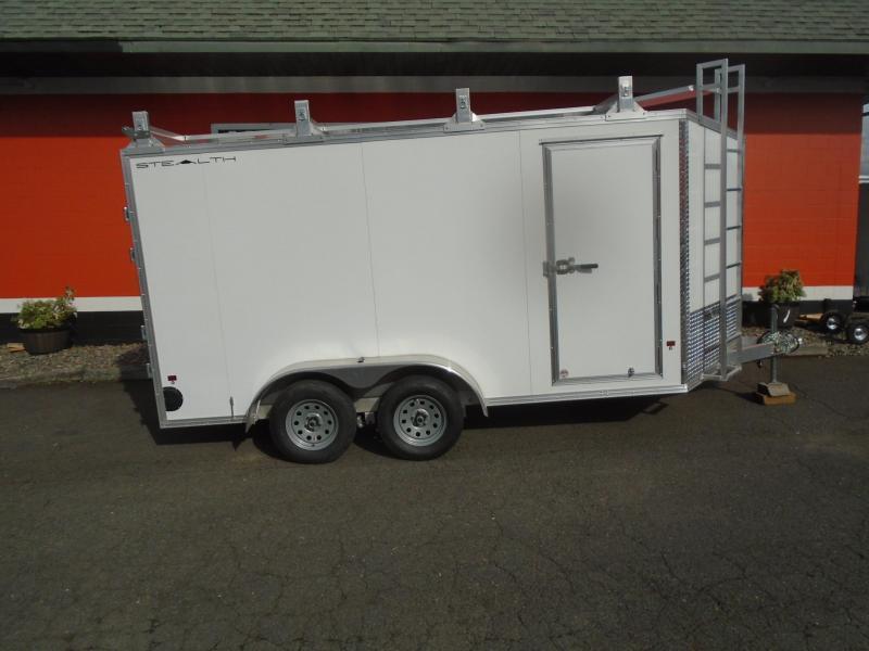 2022 Alcom-Stealth 7X14 CONTRACTOR Enclosed Cargo Trailer