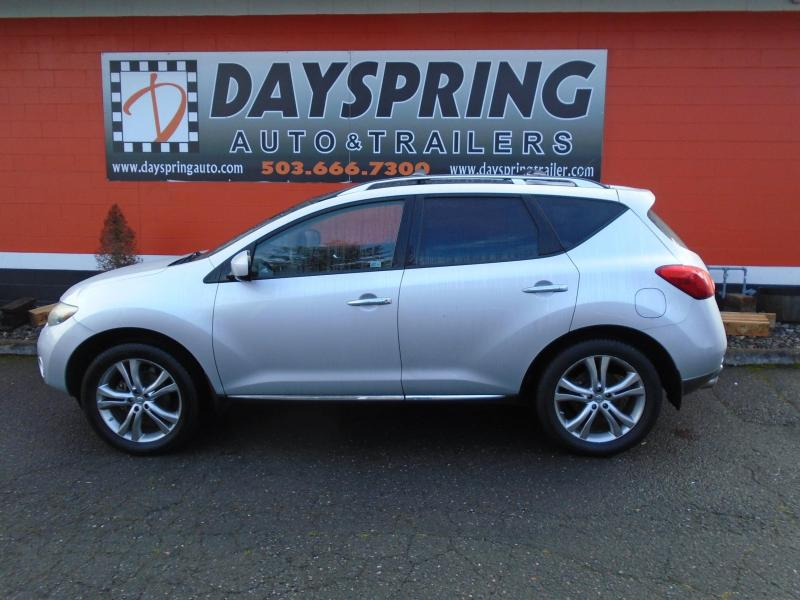 2009 Nissan MURANO LE 4X4 Upright Vehicle