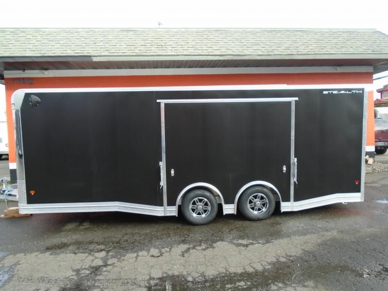 2021 ALL ALUMINUM 8.5X22 WITH 5200# AXLES WITH ELITE ESCAPE DOOR