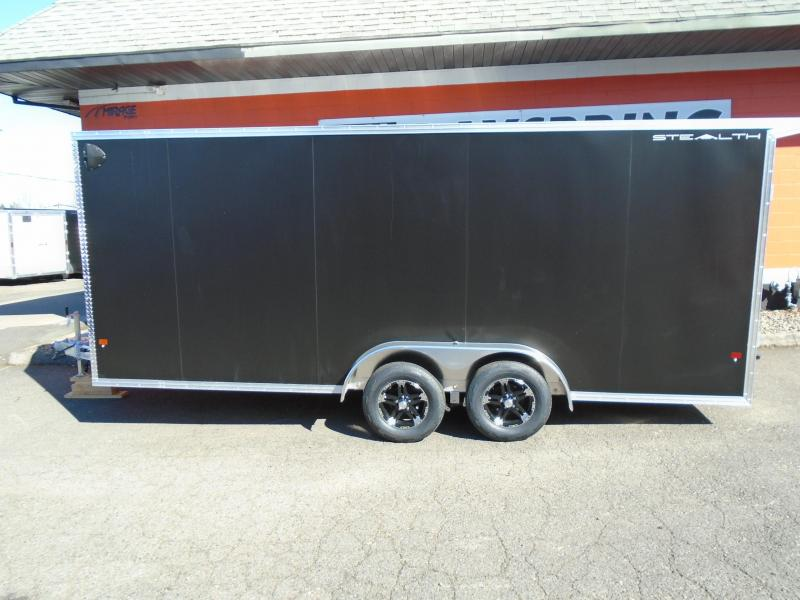2020 Alcom-Stealth C7.5X18S-IF ATV Trailer
