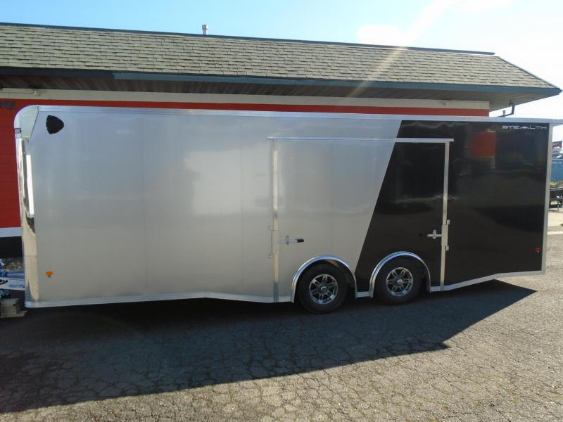 2021 Alcom-Stealth C8.5X24SCH ENCLOSED CAR HAULER