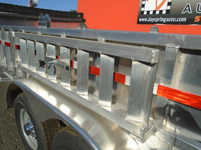 2021 CargoPro Trailers 7X14 ALL ALUMINUM DUMP TRAILER Dump Trailer