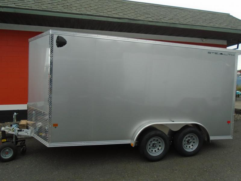 2021 Alcom-Stealth C7.6X14S-IF ATV Trailer