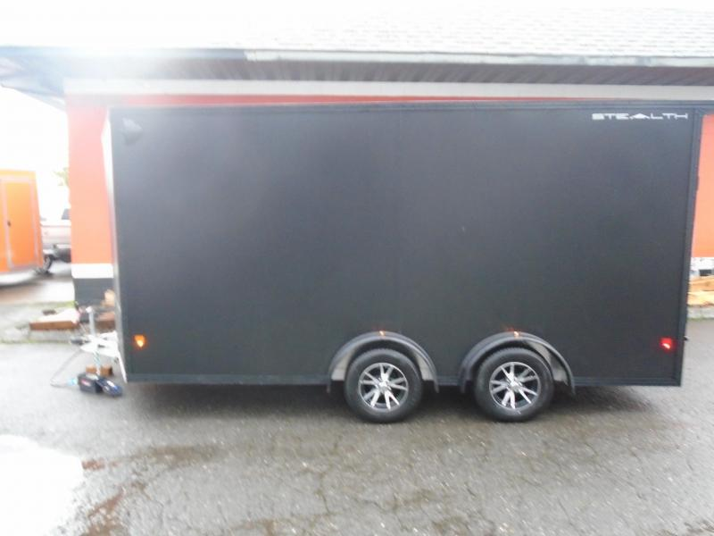 2020 ALL ALUMINUM 7.5X1 UTV ENCLOSED TRAILER