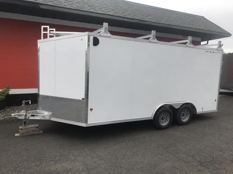 2021 Alcom-Stealth CONTRACTOR Enclosed Cargo Trailer