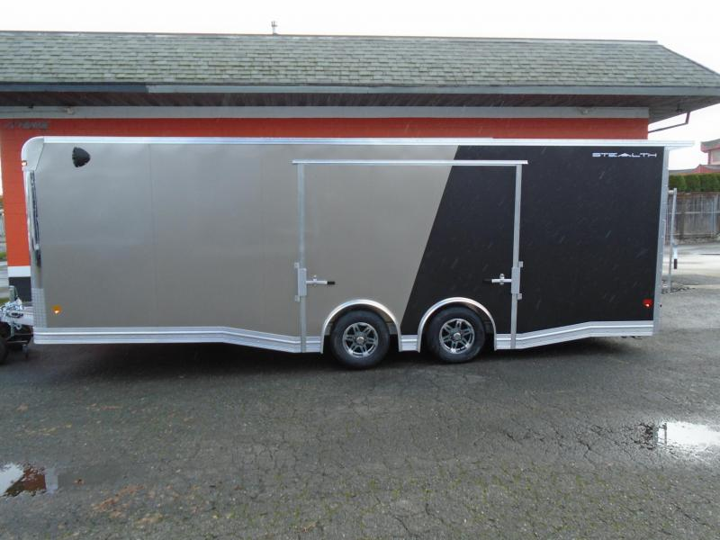 2021 STEALTH ALL ALUMINUM LIMITED EDITION 8.5x24 CAR HAULER