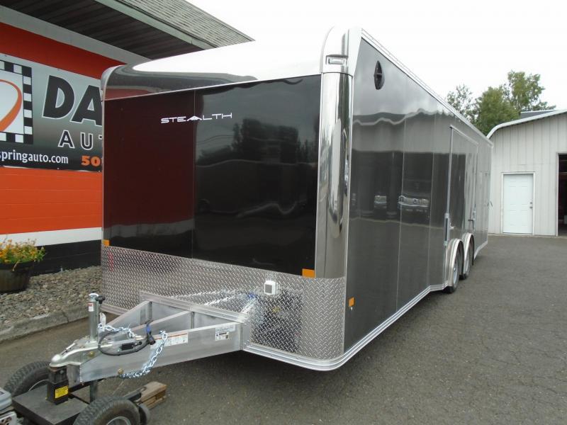 2022 Alcom-Stealth C8.5X28SCH-IF Car / Racing Trailer