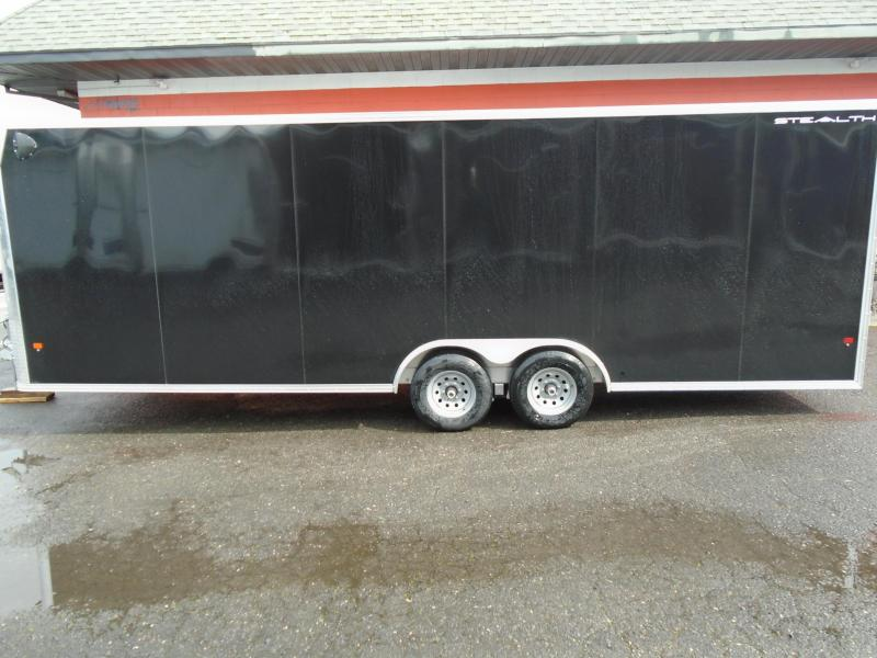 2020 Alcom-Stealth 8.5X24 Car / Racing Trailer