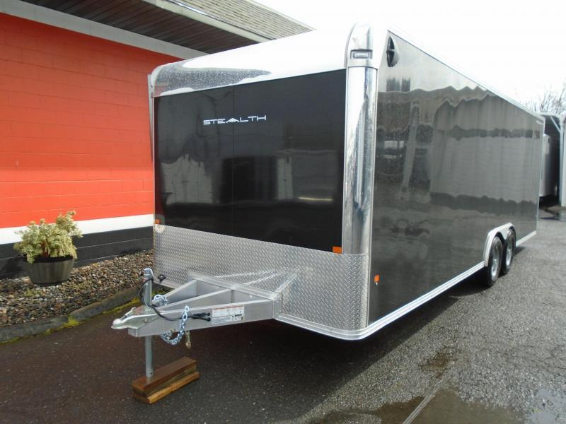 2021 Alcom-Stealth 8.5X24 Car / Racing Trailer