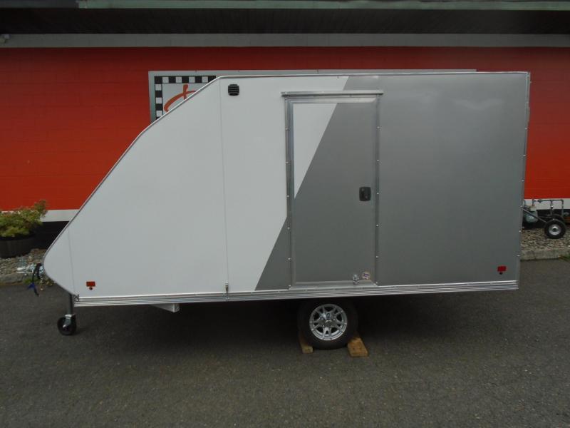 2021 Snopro HYBRID 101X12 Snowmobile Trailer